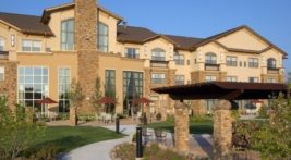 Exterior view of the Clubhouse in Sioux Falls, SD