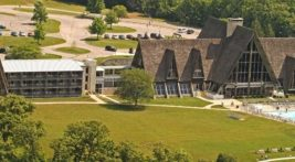 Birdseye view of Hueston Woods Resort